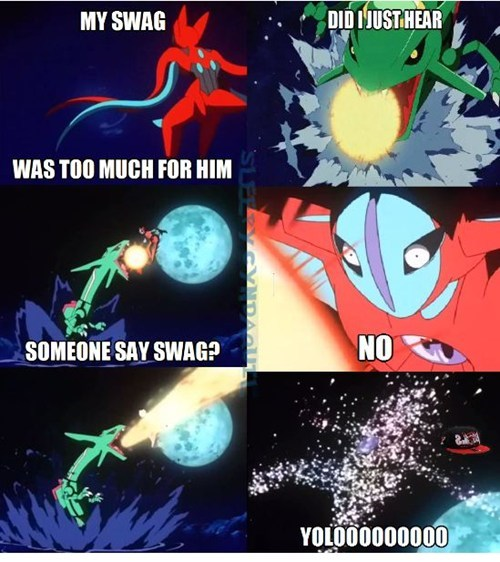 yolo swag deoxys rayquaza - 7555004672