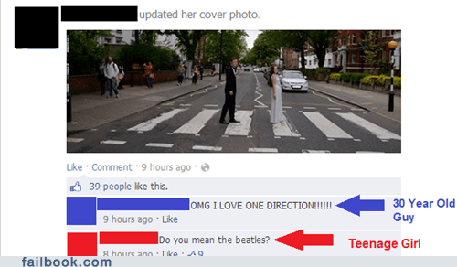 one direction,the Beatles,abbey road