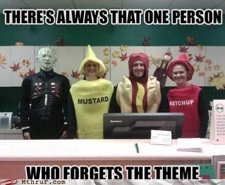 mustard hellraiser ketchup - 7555566592