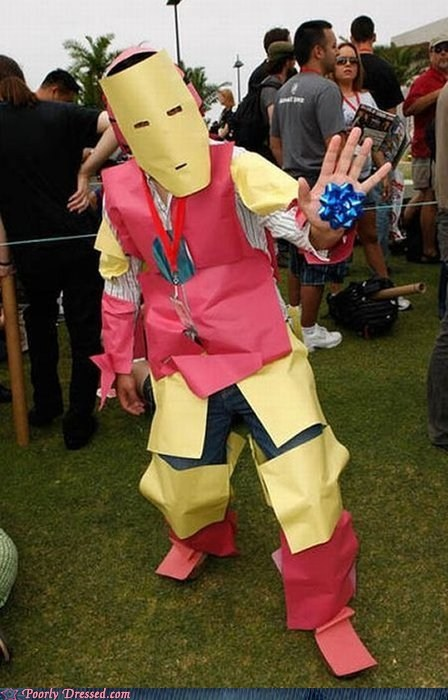 i made it myself cosplay iron man funny - 7556005888