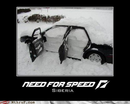 Need For Speed vs Siberia