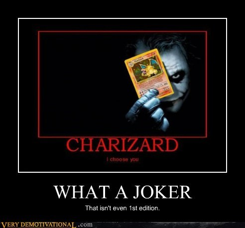 WHAT A JOKER That isn't even 1st edition.
