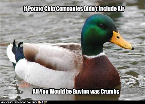 chips Actual Advice Mallard air - 7557337088