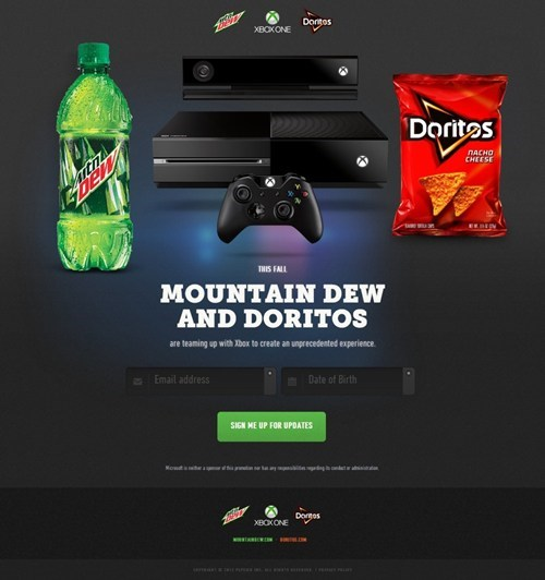 mountain dew doritos wat xbox one - 7557582080