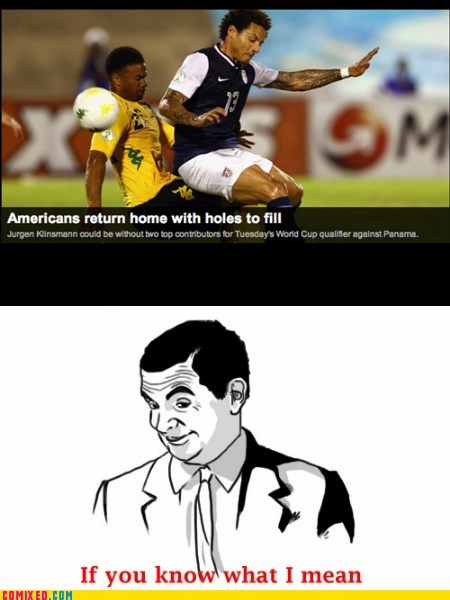 holes sports innuendo if you know what i mean soccer funny - 7557608704