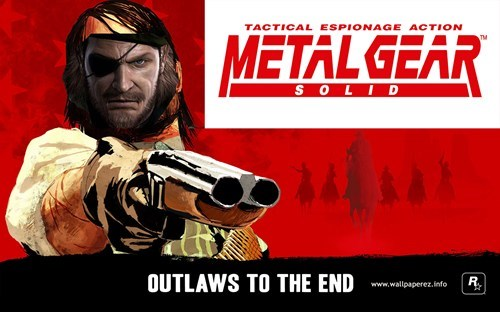 E32013 metal gear solid V red dead redemption - 7557831424