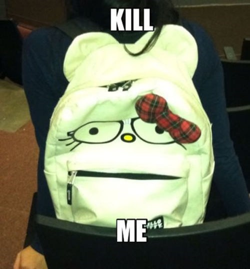 kill me wtf IRL hello kitty