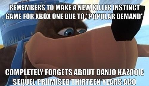 It Doesn't Seem Like We Will Ever Get a True Banjo-Kazooie Sequel