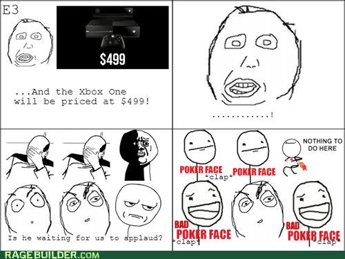 Awkward,facepalm,poker face,e3,herpderp,bad poker face,oh god why,xbone,xbox one