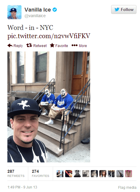 Music twitter juggalos Vanilla Ice funny