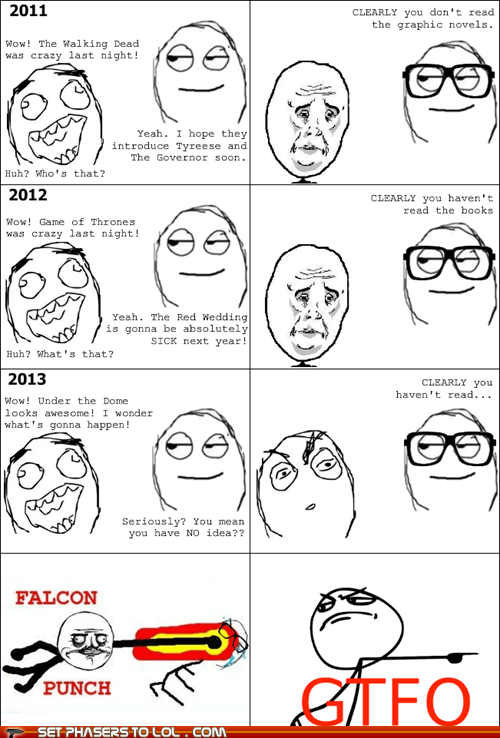 TV,books,Rage Comics