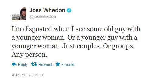 twitter relationships couples Joss Whedon - 7558411520