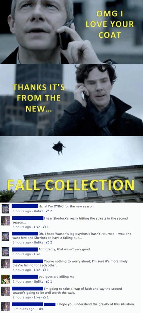 benedict cumberbatch reframed puns Sherlock funny - 7558412288