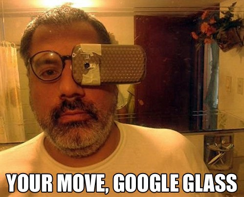 wtf smart phones google glass - 7558432256