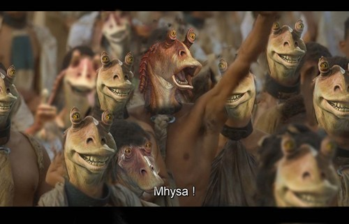 crossover star wars Game of Thrones jar jar binks - 7558507776
