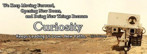 curiosity quote walt disney funny - 7558553856