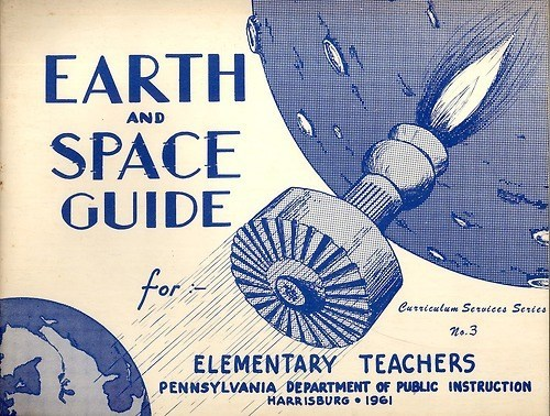 old timey science funny space earth - 7558561024