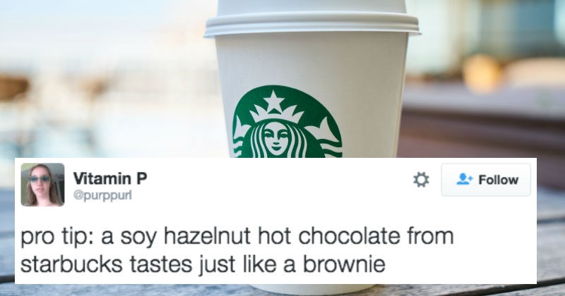caffeine tips Starbucks helpful life hacks coffee social media - 7558661