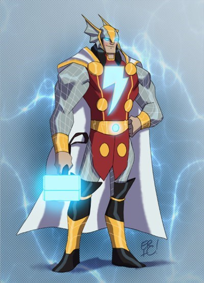 shazam Thor art awesome funny - 7558705920