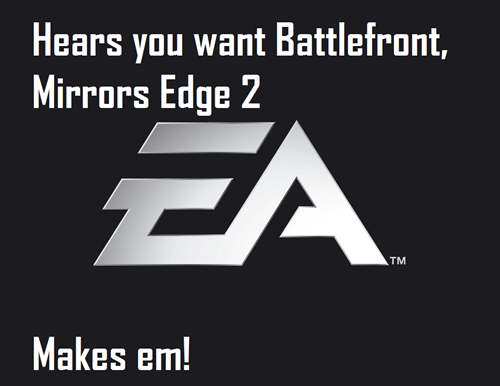 E32013,battlefront,Mirrors Edge 2,EA