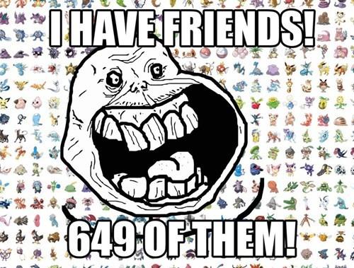 forever alone Pokémon - 7558848768