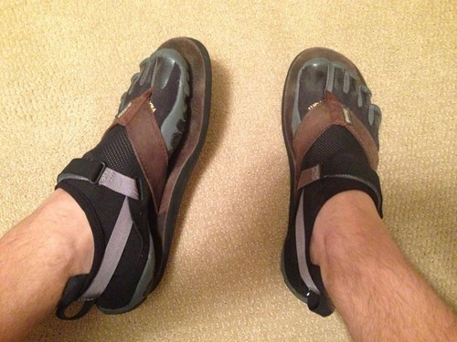 shoes sandals funny vibrams poorly dressed g rated