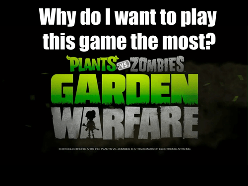 E32013,plants vs zombies,EA