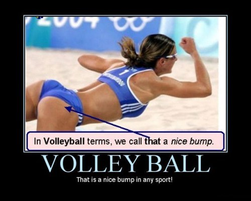 wtf volleyball bump funny - 7559097600