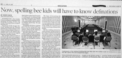 news headline spelling funny