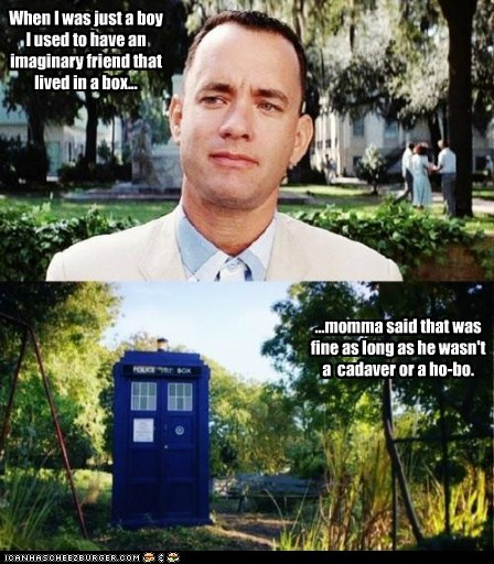 Forrest Gump crossover doctor who - 7559702528
