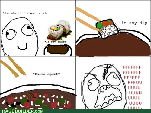 sushi,eating,soy