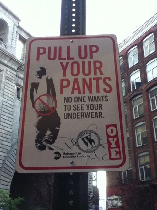 sign psa pants funny - 7559713024