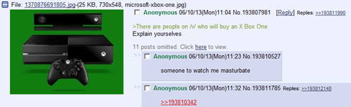 NSA 4chan prism fapping xbox one - 7559835136