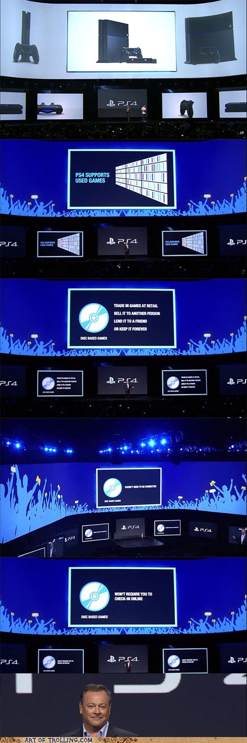 Sony,e3,microsoft,video games,xbox one