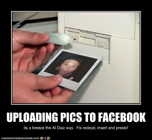 UPLOADING PICS TO FACEBOOK