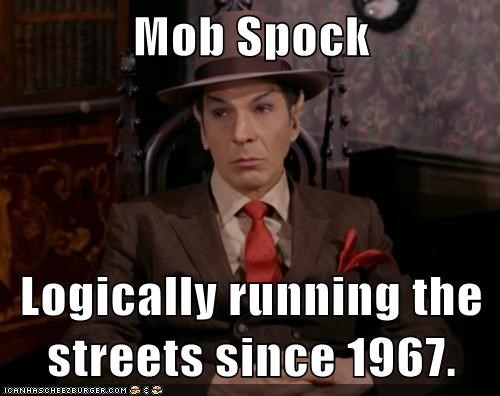 the mob Spock Star Trek - 7559857408