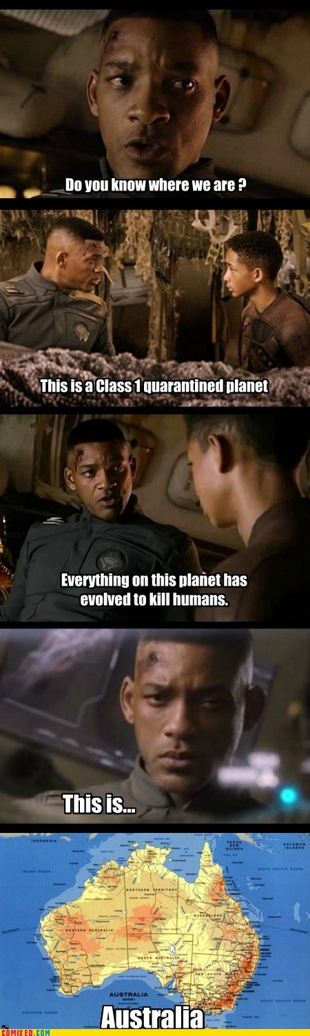 after earth australia will smith funny