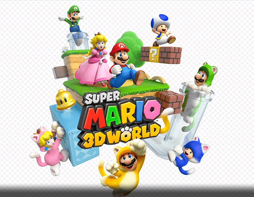 E32013 wii U Nintendo Direct super mario 3d world mario nintendo - 7561027072