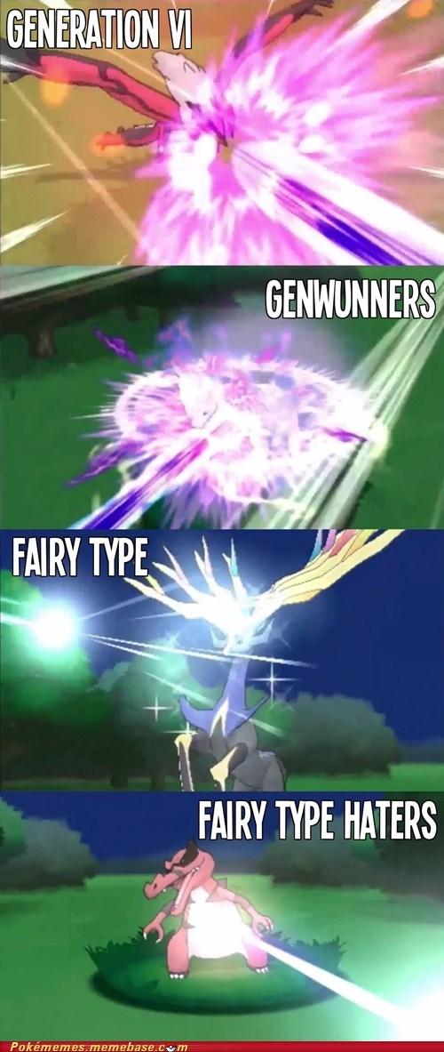 gen VI genwunners fairy type pokemon x/y