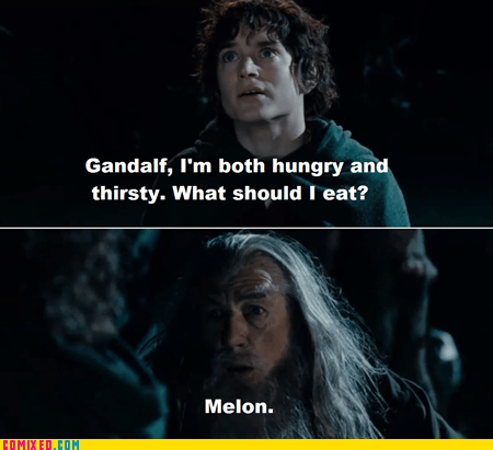 gandalf wizards melons funny - 7561352192