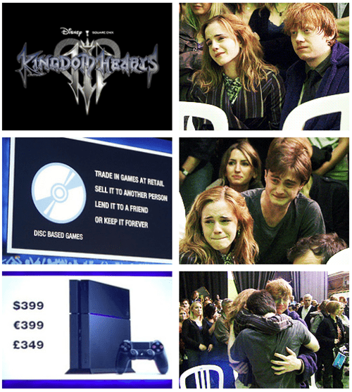 E32013 PlayStation 4 Harry Potter Sony kingdom hearts III - 7561663488
