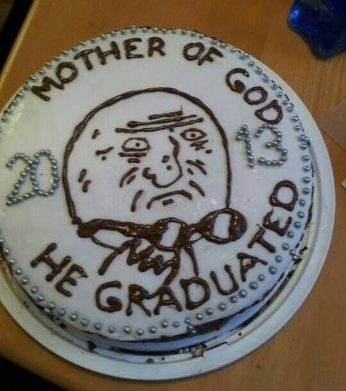 cake graduation mother of god truancy story - 7561780992
