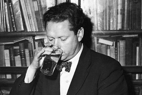 drunk poet dylan thomas funny - 7561788416