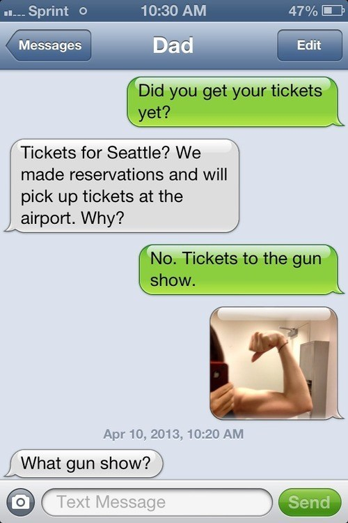 gun show generational generation gap funny - 7562189824