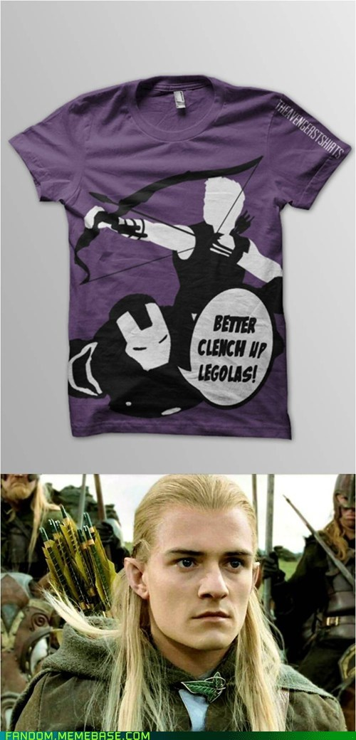 Lord of the Rings legolas crossover The Avengers iron man - 7562190336