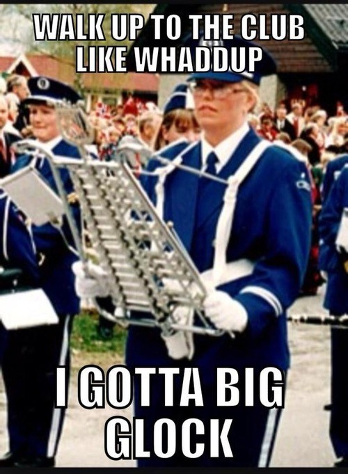 Music marching band funny glockenspiel - 7562235904