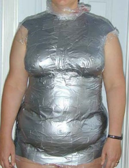 i made it myself duct tape clothes made of duct tape funny - 7562236928