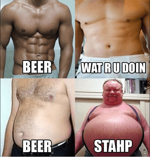 abs fat jokes beer belly funny