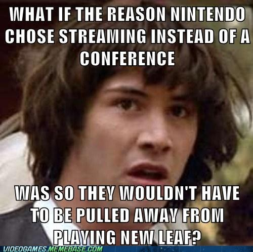 E32013 new leaf Memes conspiracy keanu animal crossing - 7562394368