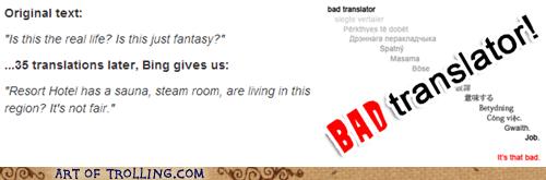 queen Bad Translator bohemian rhapsody - 7562453248
